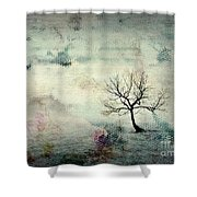 Silence To Chaos - 5502c3 Shower Curtain