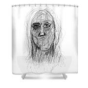 Silenced Shower Curtain