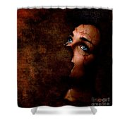 Silenced Shower Curtain