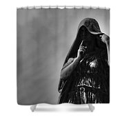 Silent Angel Shower Curtain