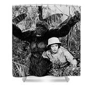 Silent Film Still: Animal Shower Curtain