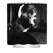 Silent Film Still Shower Curtain