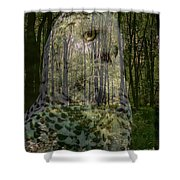 Silent Sentinel Shower Curtain