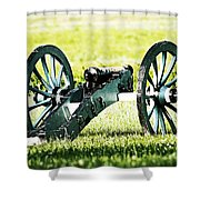 Silent Sentry Shower Curtain