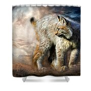 Silent Spirit Shower Curtain
