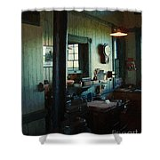 Silent Station Shower Curtain
