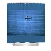 Silent Story Shower Curtain