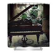 Silent Symphony Shower Curtain
