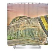 Silent Warrior Shower Curtain