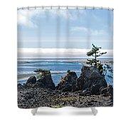 Siletz Bay Shower Curtain