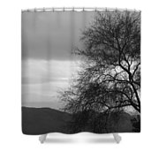 Silhouette Shower Curtain