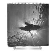 Silhouetted Shower Curtain