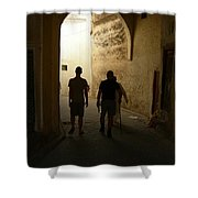 Silhouettes In Fez Shower Curtain