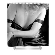 Silk And Skin Shower Curtain