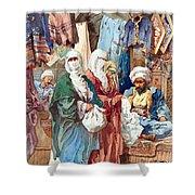 Silk Bazaar Shower Curtain