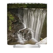 Silk Cascade Shower Curtain