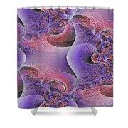 Silk Fabric Shower Curtain