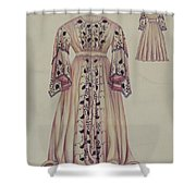 Silk Taffeta Costume Shower Curtain