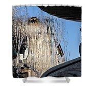 Silken Fountain Curtain -  Shower Curtain