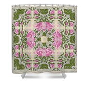 Silky Rose Shower Curtain