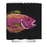 Silky Snapper Shower Curtain