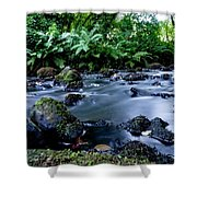 Silky Waters Shower Curtain
