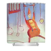 Silly Clown Shower Curtain