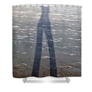 Silly Silhouette  Shower Curtain