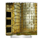 Silo 3 Shower Curtain