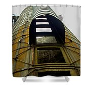 Silo 4 Shower Curtain