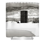 Silo And Silence Shower Curtain