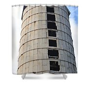 Silo History 2 Shower Curtain