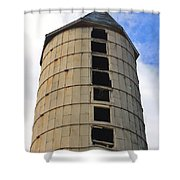Silo History Shower Curtain
