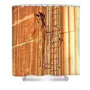Silo Ladder Shower Curtain