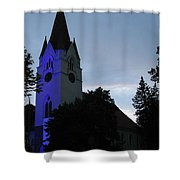 Silute Lutheran Evangelic Church Lithuania 01 Shower Curtain