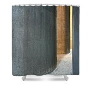 Silver And Gold In Belgium Shower Curtain