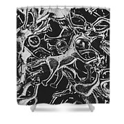 Silver Cup Shower Curtain