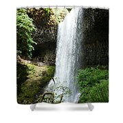 Silver Falls 2 Shower Curtain