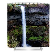 Silver Falls State Park Oregon 4 Shower Curtain