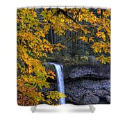 Silver Falls State Park Oregon Shower Curtain