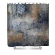 Silver Lida Shower Curtain