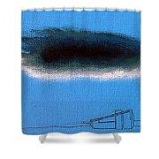 Silver Lining Alexander Shower Curtain