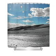 Silver Sand Shower Curtain