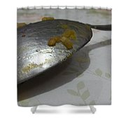 Silver Spoon? Shower Curtain