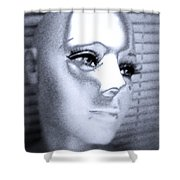Silver Queen Shower Curtain