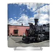 Silverton Durango Steam Train - Silverton Colorado Shower Curtain
