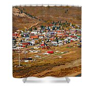Silverton Town Site Shower Curtain