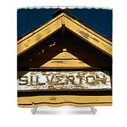 Silverton Train Station Shower Curtain