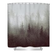 Simbiosis IIi Shower Curtain