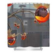 Simmondsia Vitra Shower Curtain